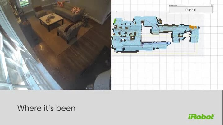 Enlace a Así traza el mapa de una casa entera este pequeño robot aspirador