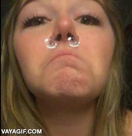Enlace a Creo que alguien no ha sabido utilizar bien el efecto de las lágrimas en Snapchat