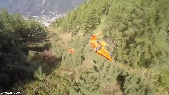 Enlace a El hombre siempre ha soñado con volar. Algunos ya lo han conseguido prácticamente