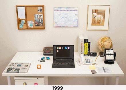Enlace a La evolución de los escritorios en apenas un cuarto de siglo