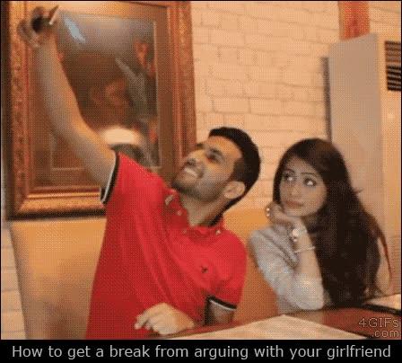 Enlace a Cómo conseguir pausar temporalmente la discusión con tu novia