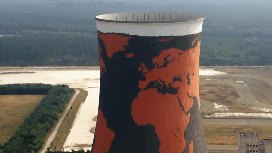 Enlace a ¿El mapamundi más grande del mundo?