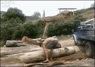 Enlace a Este tío es muy fuerte...¡Espera un momento!