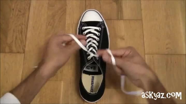 Enlace a Atar los cordones en un simple movimiento