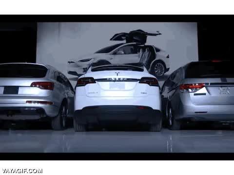 Enlace a Así son las puertas de halcón del nuevo Tesla Model X's