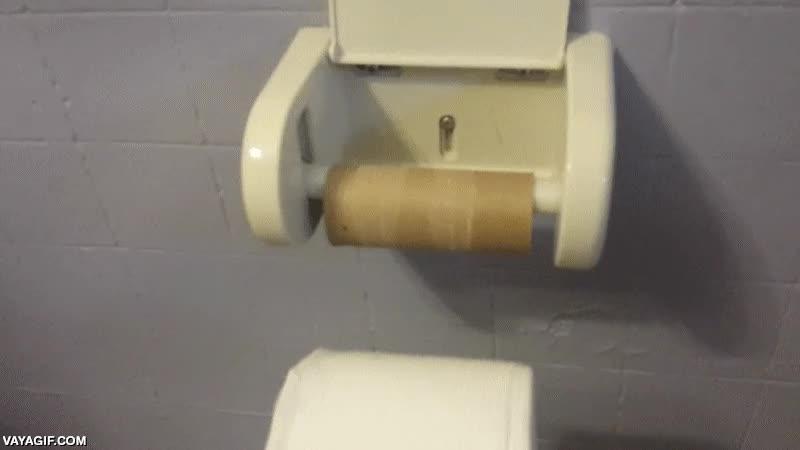 Enlace a Probablemente el soporte para papel higiénico más práctico del mundo
