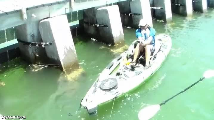 Enlace a Pescando por encima de las posibilidades de tu barca