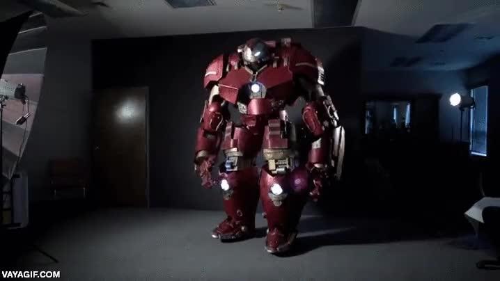 Enlace a El cosplay ha llegado a un nuevo nivel, atención a este Hulk Buster de tamaño real