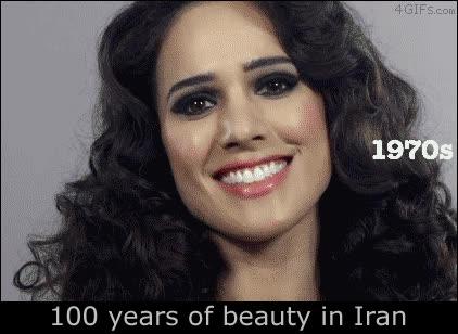 Enlace a 100 años de belleza y moda iraní