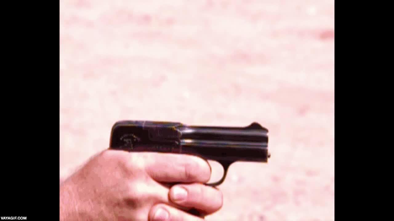 Enlace a Esta pistola de 1908 es de las pocas en la historia que tiene el retroceso hacia adelante