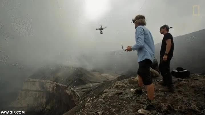 Enlace a El uso de los drones permite la obtención de imágenes tan espectaculares como esta