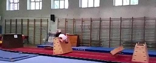 Enlace a ¿Es un pájaro? ¿Es un avión? ¡No, es un gimnasta!
