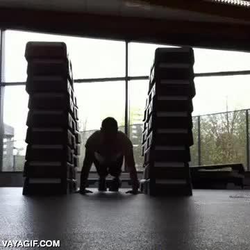 Enlace a Llevando las flexiones al máximo nivel