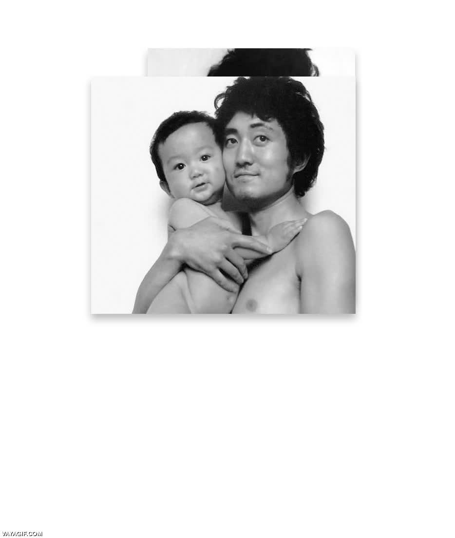 Enlace a Un padre y un hijo se han ido fotografiando a lo largo de los últimos 27 años, este es el resultado