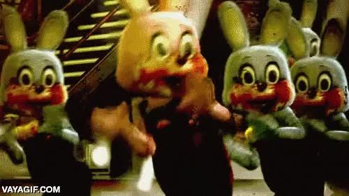 Enlace a Adorables conejos bailando después de comer tomate, bueno eso creo...