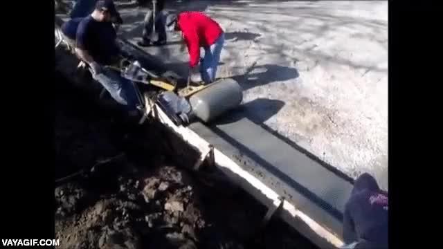 Enlace a Así se hacen las curvas en las construcciones con cemento y hormigón