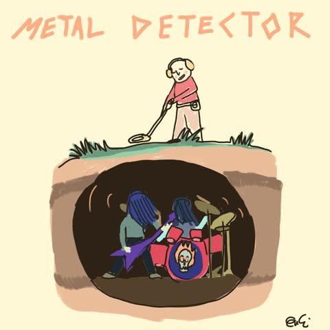 Enlace a Esto es lo que me imagino cuando alguien me habla de un detector de metales
