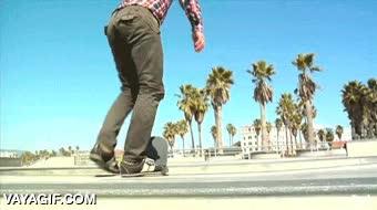 Enlace a Primara vez en skate