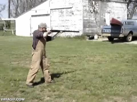 Enlace a Cuando la potencia de la escopeta es demasiada