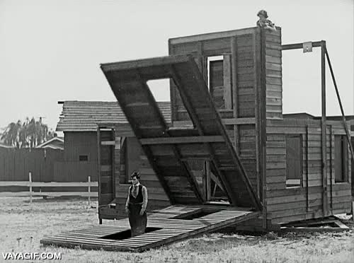 Enlace a La magia del mítico Buster Keaton en loop infinito