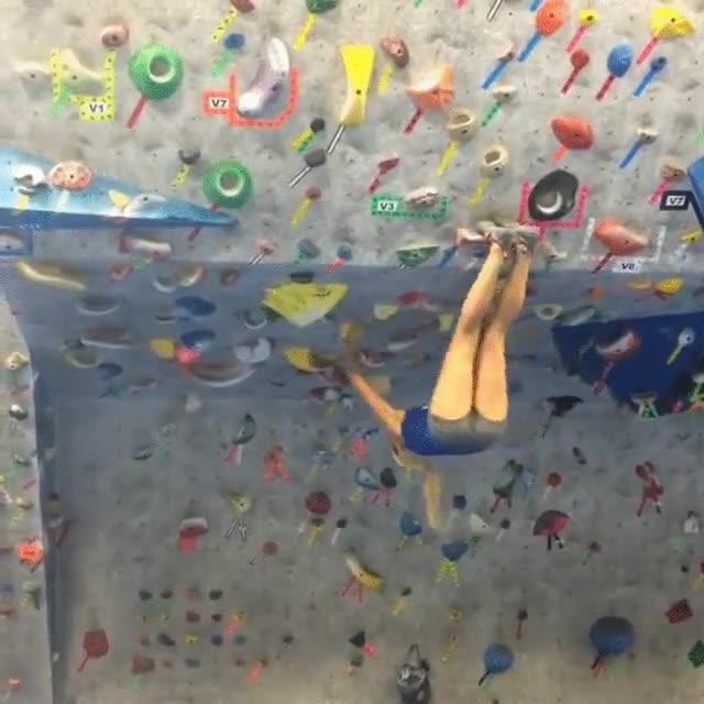 Enlace a Hay quien dice que las chicas no son buenas escaladoras