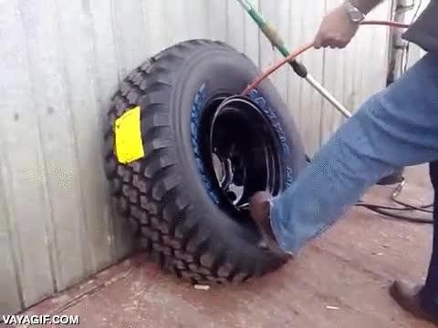 Enlace a Hinchando ruedas de la manera más rápida posible