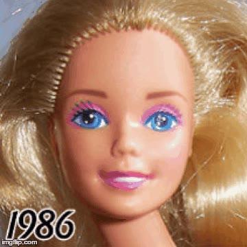 Enlace a Evolución de la Barbie