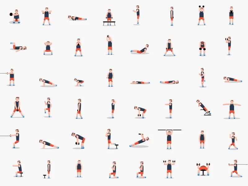 Enlace a Con un solo gif puedes tener toda tu tabla de ejercicios en su smartphone