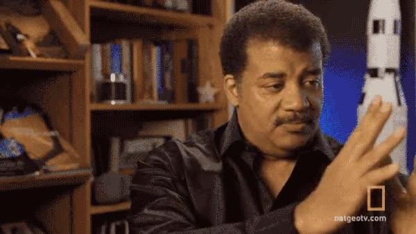 Enlace a El astrofísico Neil DeGrasse Tyson intentando explicar por qué la reproducción en el espacio cuesta