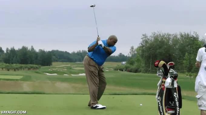 Enlace a ¿Soy yo o este golfista tiene como un poco de lag?