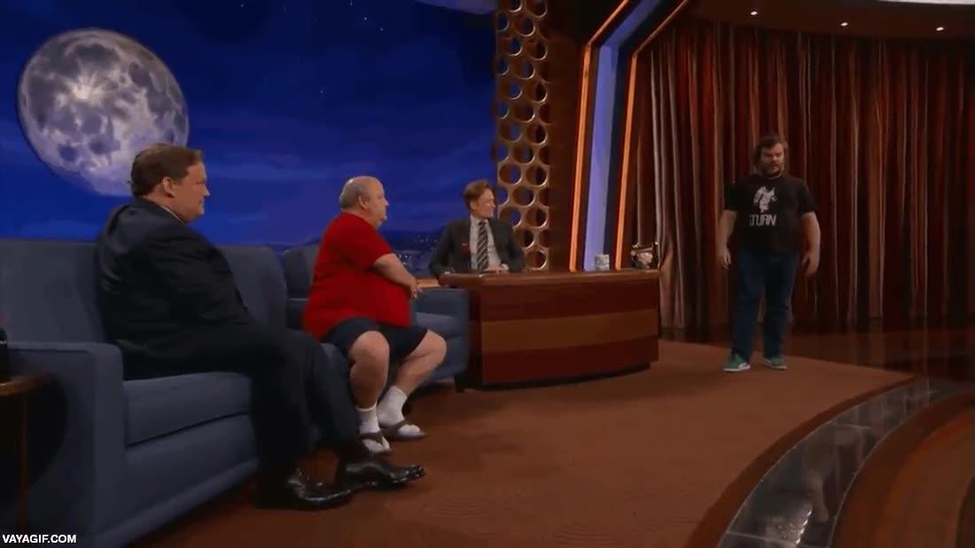 Enlace a ¿Así que Jack Black está muy gordo y así no se va a poder in mover? Atención a esto