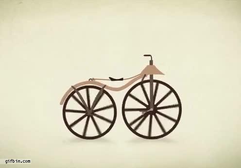Enlace a La evolución de las bicicletas
