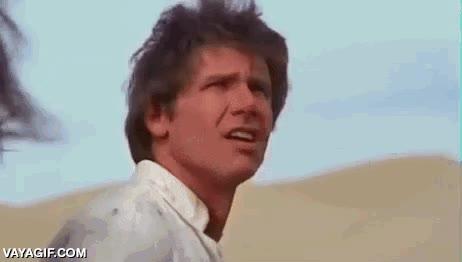 Enlace a Igual no te fijaste bien al ver la peli, pero Travolta estuvo apareció en Star Wars