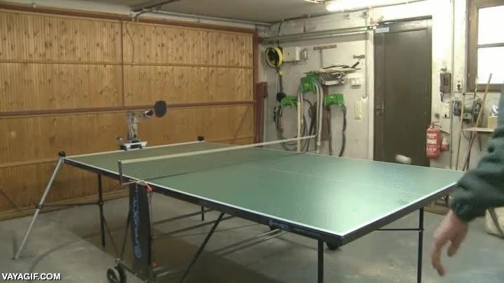 Enlace a ¿No tienes amigos para jugar al ping-pong? Tranquilo, los robots están en camino