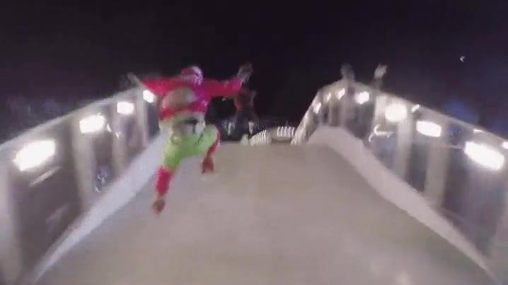 Enlace a Esto se llama Ice Cross y es una locura en velocidad, en riesgo, pero sobre todo en adrenalina