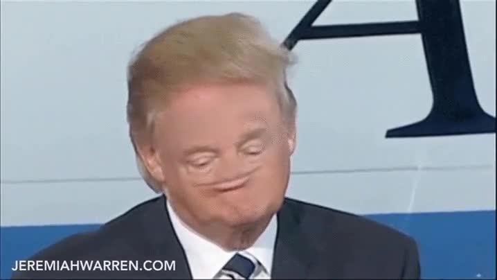 Enlace a Cuando creías que la cara de Donald Trump no podía ser más rara