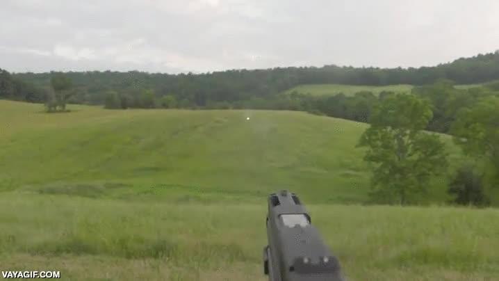 Enlace a Con estas balas puedes ver la estela que dejan al ser disparadas