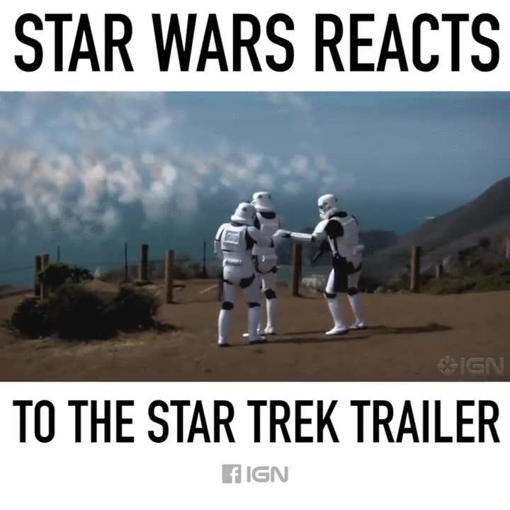 Enlace a Star Wars vs. Star Trek, ¿y tú de quién eres?