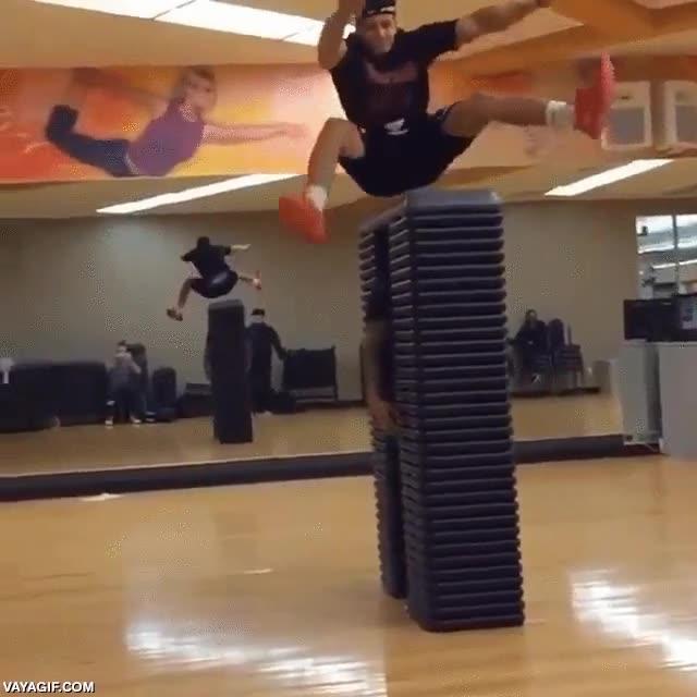 Enlace a Menuda potencia de salto, es que es increíble