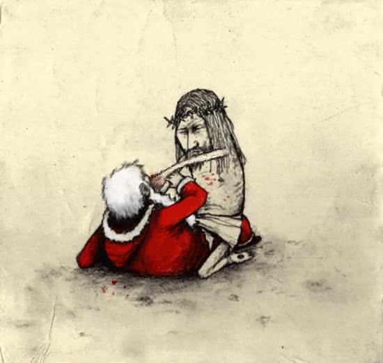 Enlace a Jesús reclamando sus derechos sobre la Navidad