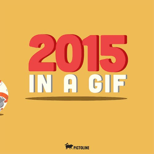 Enlace a Lo más destacado de 2015 en un gif