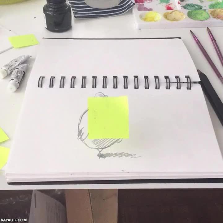 Enlace a Hay gente capaz de hacer auténticas maravillas con lápiz, papel y un poco de imaginación