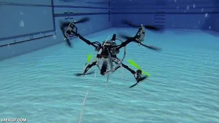 Enlace a Los drones conquistando nuevas fronteras, en este caso, acuáticas