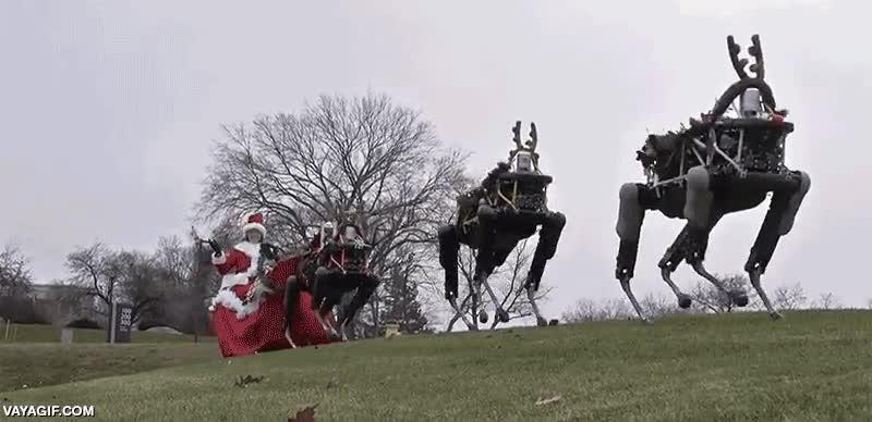 Enlace a Boston Dynamics ya está preparando la Navidad del futuro