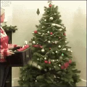 Enlace a Así se decora un árbol de Navidad