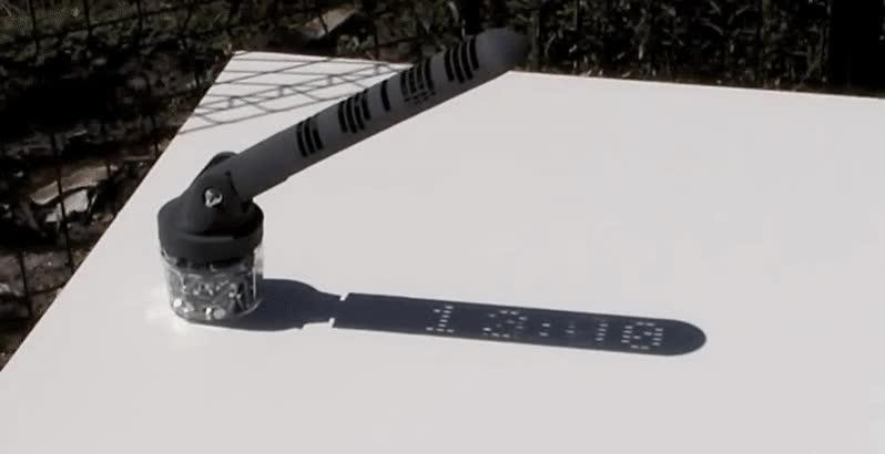 Enlace a Un increíble reloj solar impreso en 3D