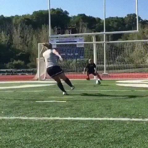 Enlace a Un truco muy arriesgado para tirar el penalti pero muy vacilón si te sale bien