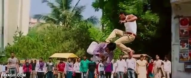 Enlace a Así son las físicas de las pelis de Bollywood, una locura