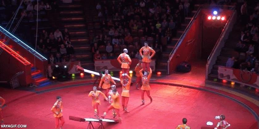 Enlace a Las maravillas que son capaces de hacer los equilibristas y acróbatas del circo son incomparables