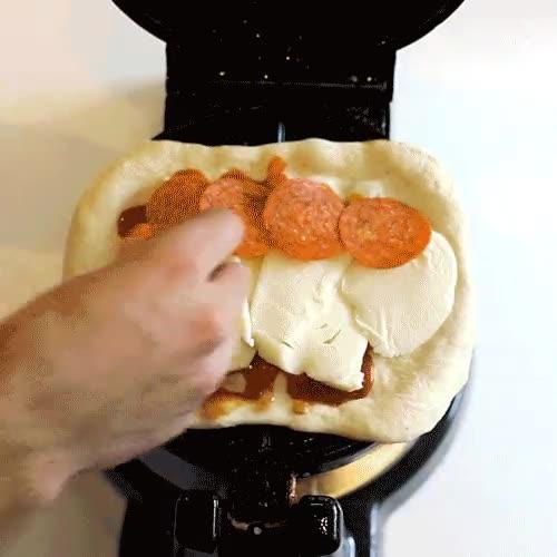 Enlace a Receta exprés para preparar gofrepizzas